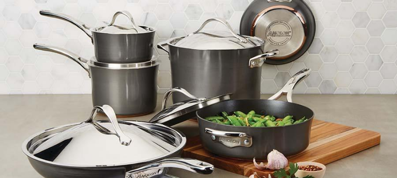 Nonstick Cookware Set on tabletop