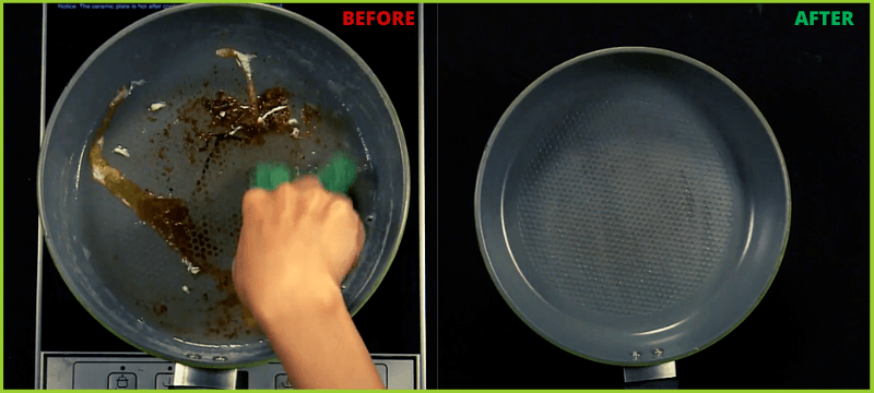 easy to clean ceramic cookware