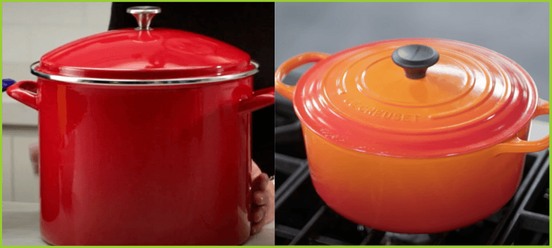 stock pot dutch oven difference