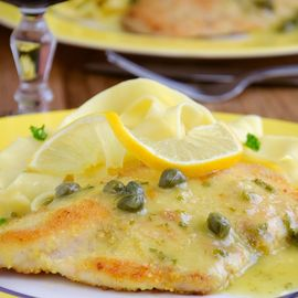 chicken piccata with red wine