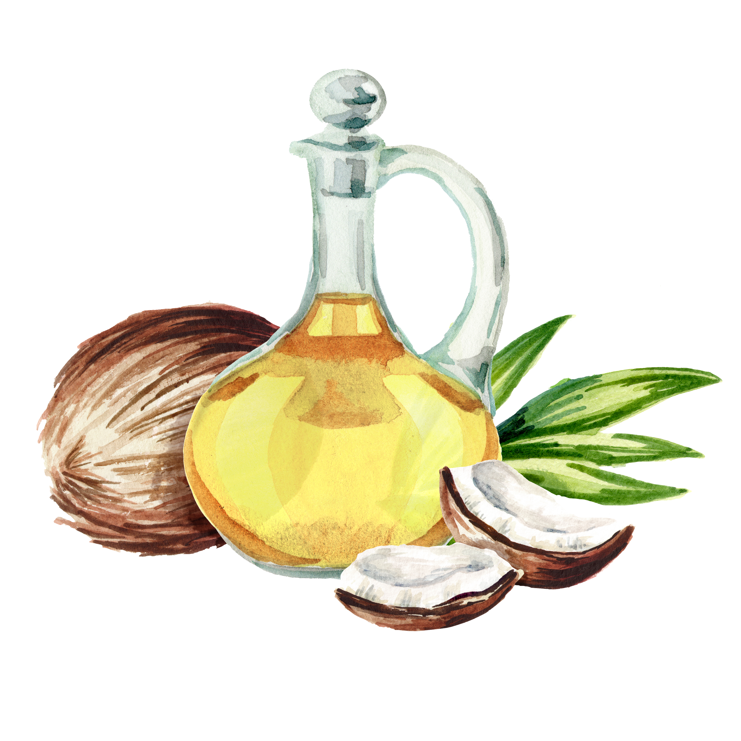 healthy coconut cooking oil